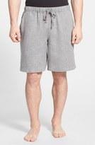 Daniel Buchler Woven Linen Shorts