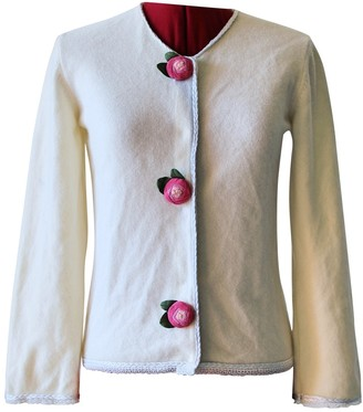 Andrew Gn White Cashmere Knitwear for Women