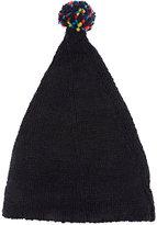 Grevi Men's Wool-Blend Slouchy Hat-NAVY