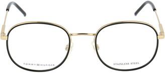 Tommy Hilfiger Round Frame Glasses