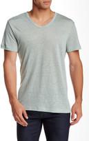 Slate & Stone Short Sleeve V-Neck Linen Tee