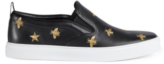 Gucci Men's slip-on sneaker with bees