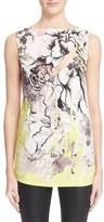 Roberto Cavalli Women's Cutout Floral Print Jersey Top