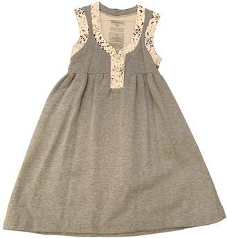 Heimstone Grey Cotton Dresses