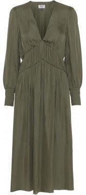 DAY Birger et Mikkelsen Lake Dress Soldier Green - Green / M