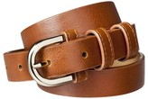 Merona Women's Modern Dress Belt - Brown