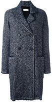 P.A.R.O.S.H. double-breasted mid coat - women - Polyamide/Mohair/Wool/Alpaca - S