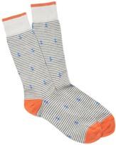 J.Mclaughlin Stripe and Anchor Socks