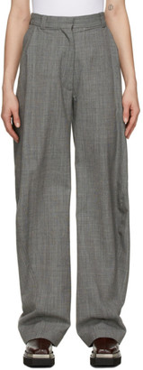 Eftychia Grey Grampa Trousers
