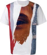 Juun.J multi-print T-shirt - men - Cotton/Rayon - 46