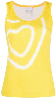 Escada Sport Heart-Print Vest Top