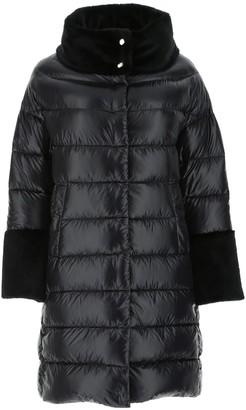 Herno Fur Trim Puffer Coat