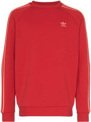 adidas Stripe Detail Sweatshirt