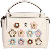 Fendi Medium Dotcom Flowers Leather Bag