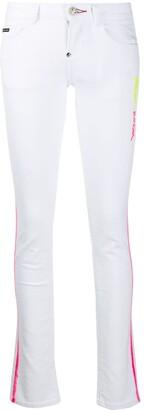 Philipp Plein Neon Rock skinny jeans