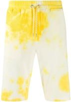 Roberto Collina tie-dye drawstring shorts