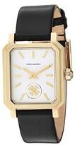 Tory Burch Robinson Leather Watch (Black - TBW1504) Watches