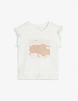 Chloé Graphic-print cotton T-shirt 4-14 years