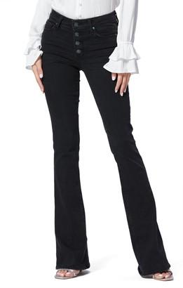 Paige Lou Lou High Waist Flare Jeans