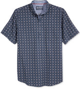 American Rag Men's Foulard-Print Short-Sleeve Shirt, Only at Macy's