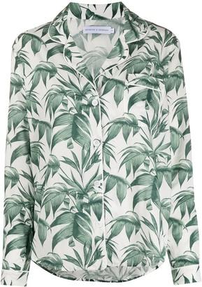 Desmond & Dempsey Byron Leaf pajama set