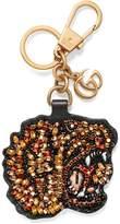 Gucci Rhinestone tiger keychain