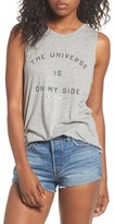 Spiritual Gangster Women's The Universe Is On My Side Tank