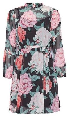Dorothy Perkins Womens Dp Petite Floral Print Dress