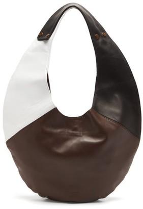 Gabriel For Sach - Saturno Colour-block Leather Shoulder Bag - Multi