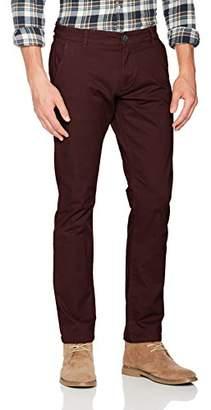 Selected Men's Shhthreeparis Decaden Choco St Pant Noos Trouser,W33/L34 (Size: 33)