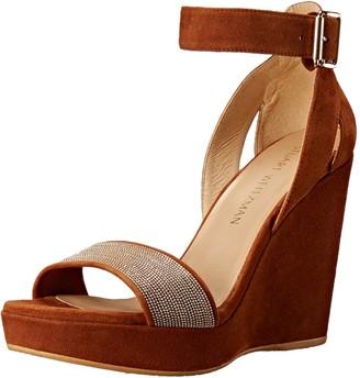 Stuart Weitzman Women's Chainery Wedge Sandal
