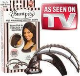 Sally Beauty Big Happie Hair Bumpits Hair Volumizing Inserts Dark Brown/Black