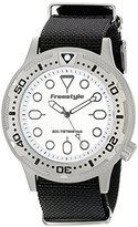 Freestyle Unisex 10017242 Ballistic Dive Analog Display Japanese Quartz Black Watch