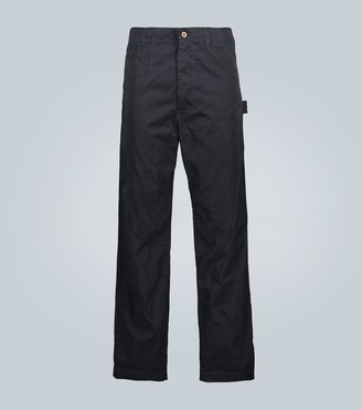 Junya Watanabe Wide-leg cotton chino pants