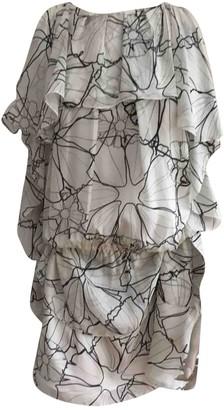 Thakoon White Silk Dress for Women