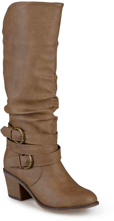 Journee Collection Late Wide Calf Boot - Women's