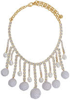 Shourouk sequinned necklace