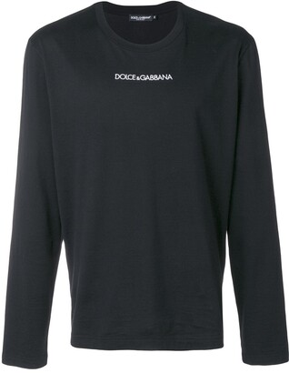 Dolce & Gabbana printed logo jumper