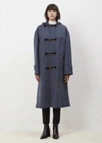 Dries Van Noten raf reeve oversized toggle coat