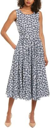 Samantha Sung Aster Midi Dress