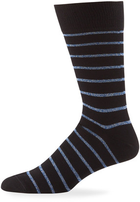 Paul Smith Men's Ben Metallic Stripe Socks