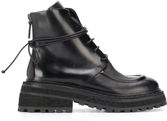 Marsèll Tred-Sole Ankle Boots