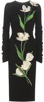 Dolce & Gabbana Furek wool-blend dress with appliqué