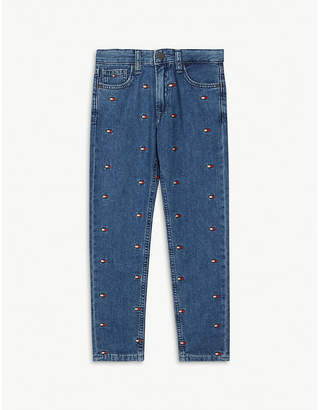 Tommy Hilfiger Flag logo jeans 4-16 years