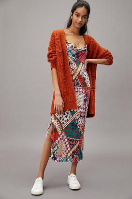 Anthropologie Printed Bias Slip Dress By in Assorted Size XS