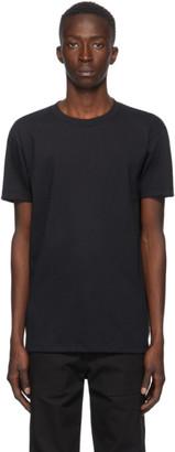 Naked and Famous Denim Black Circular Knit T-Shirt