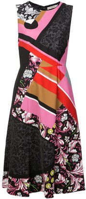 Mary Katrantzou Multi-Print Dress