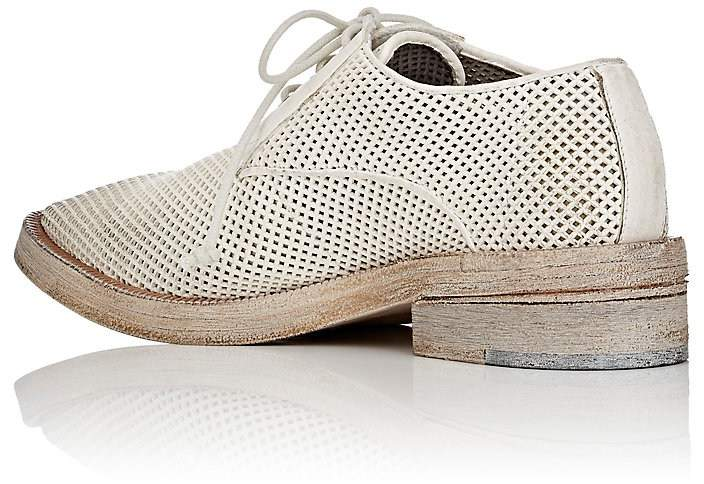 Marsèll Women's Pointed-Toe Perforated Leather Derbys