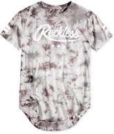 Young & Reckless Men's Starting Block Tie-Dyed Logo-Print T-Shirt