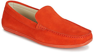 Andre BIGOLO men's Loafers / Casual Shoes in Orange